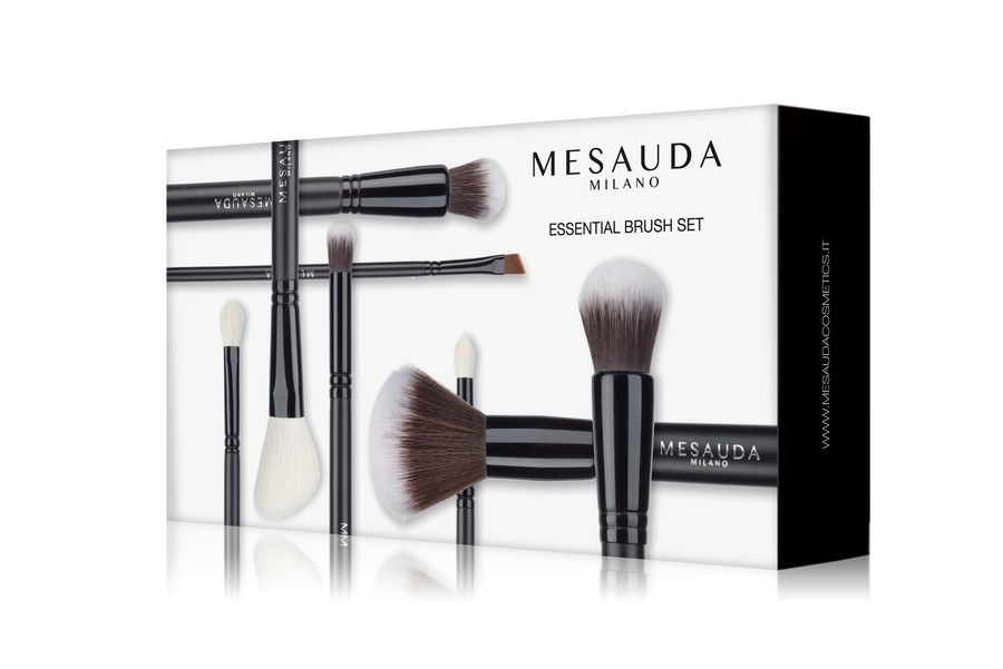 Mesauda Milano Essential Brush Set 8 Deler