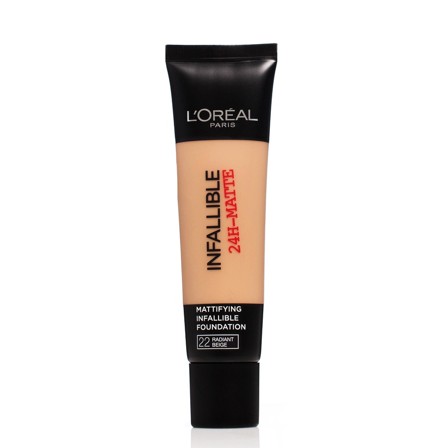 L'Oréal Paris Infallible 24h Matte Foundation #22 Radiant Beige 30ml