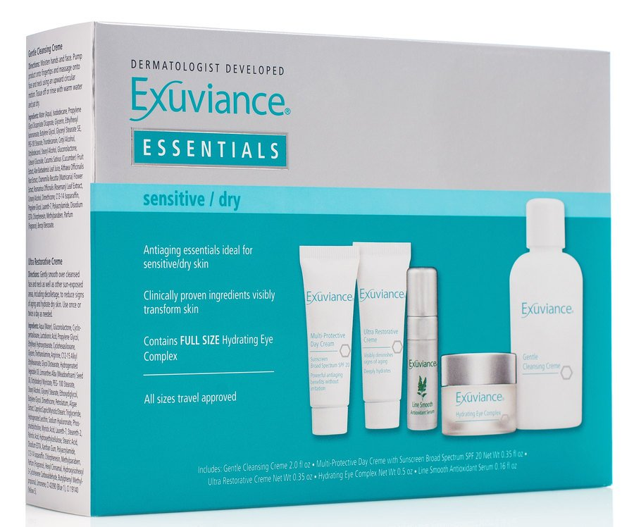 Exuviance Essentials Travel Collection Sensitive/Dry Skin
