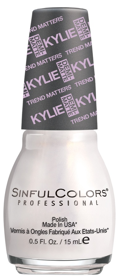 Kylie Jenner Sinful Colors Neglelakk Kashmere # 2075 15ml