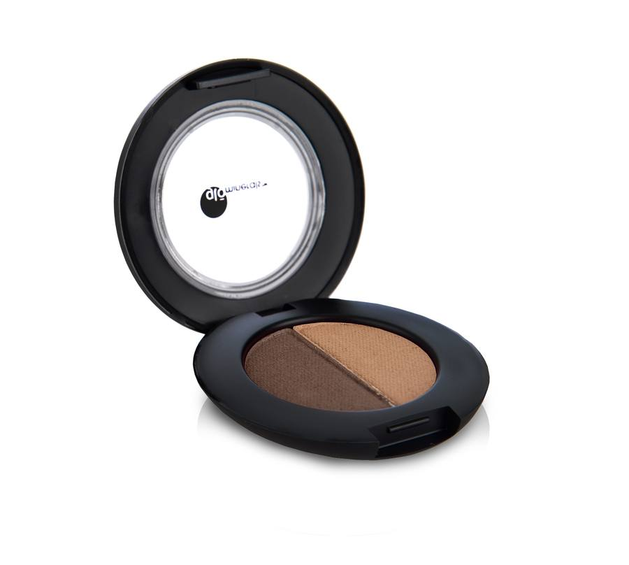 glóMinerals GloBrow Powder Duo Brown