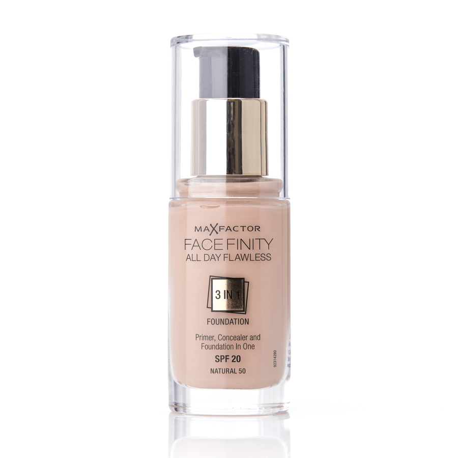 Max Factor Facefinity 3 In 1 Foundation 50 Natural 30ml