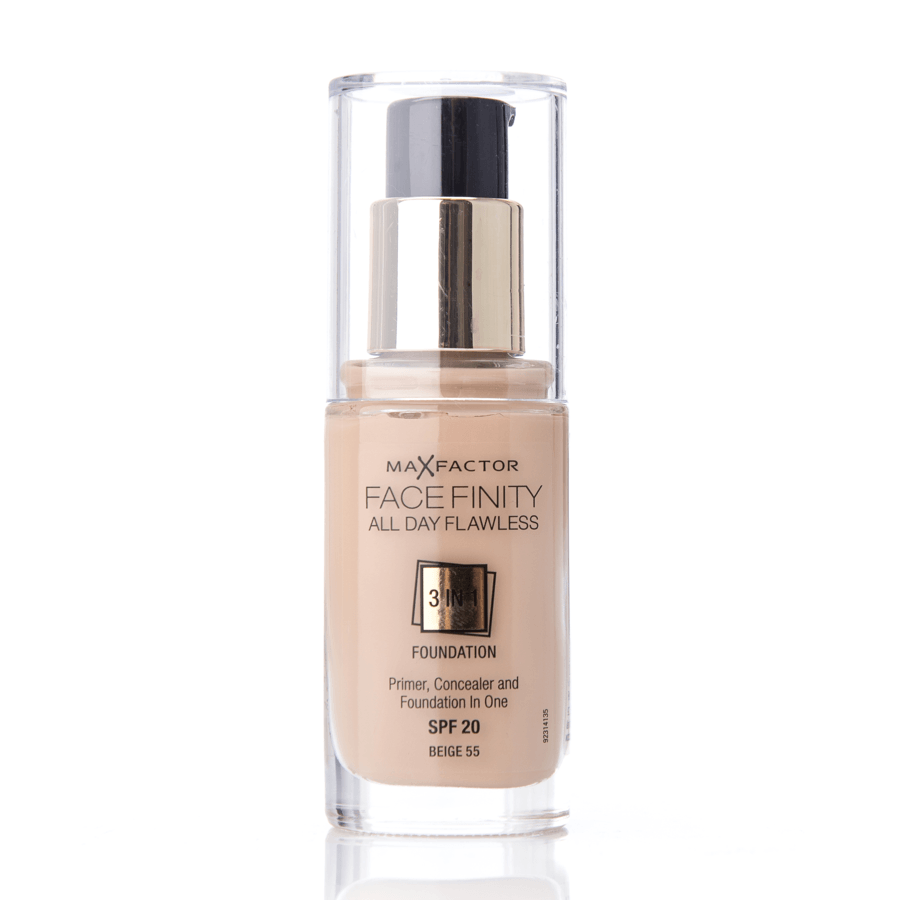 Max Factor Facefinity 3 In 1 Foundation 55 Beige 30ml