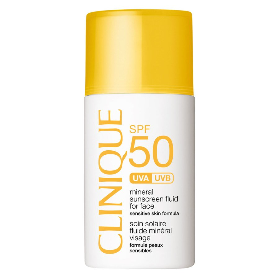 Clinique SPF50 Mineral Sunscreen For Face 30ml