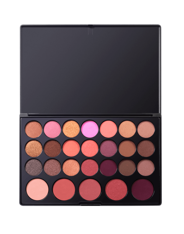 bh Cosmetics Blushed Neutrals Palette 26 Color Eyeshadow and Blush Palette 38,5g