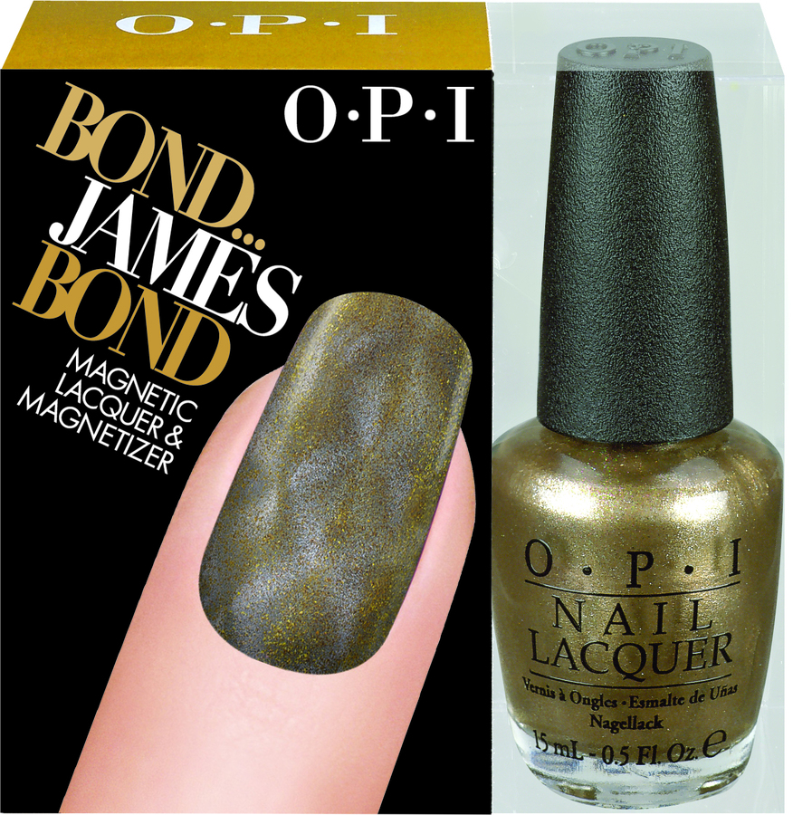 OPI Magnetlakk Skyfall James Bond Collection Bond... James Bond 15ml + Magnet
