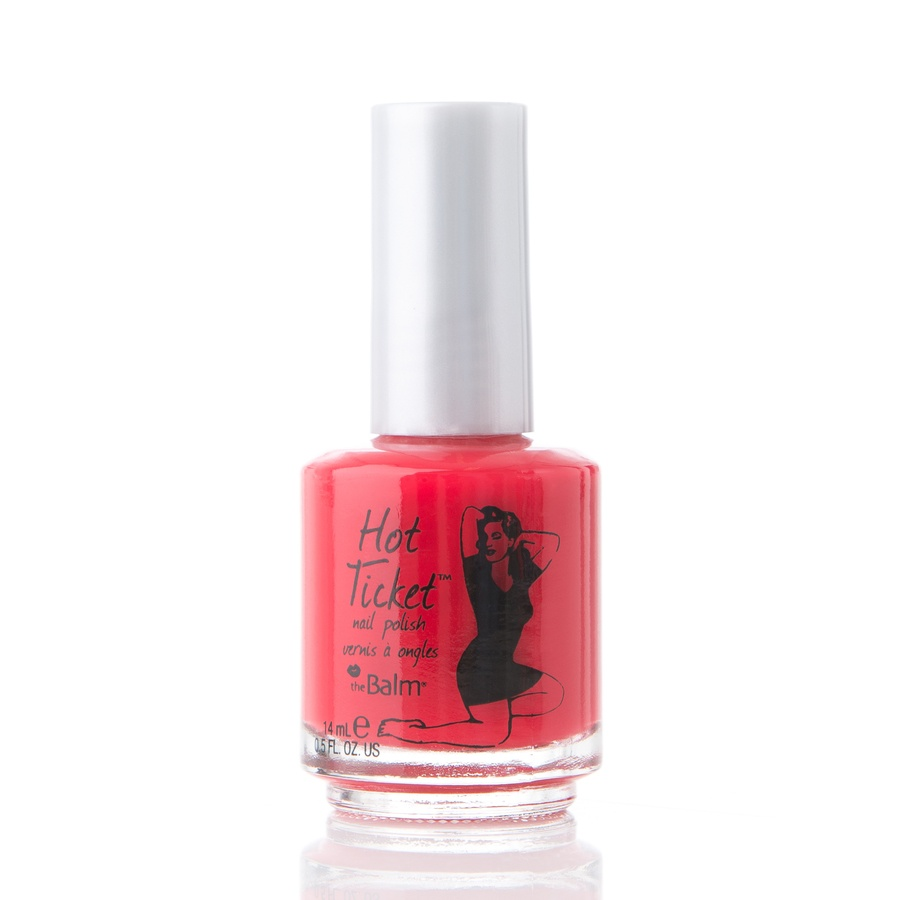 The Balm Hot Ticket Nail Poilsh Red From Cover to Cover