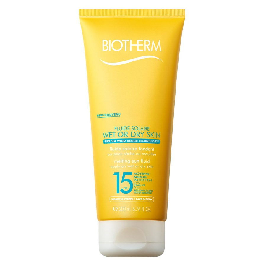 Biotherm Fluide Solaire Wet Or Dry Skin Melting Sun Fluid SPF15 200ml