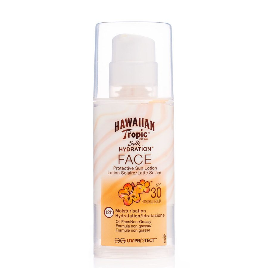 Hawaiian Tropic Silk Hydrate Face Lotion SPF30 50ml