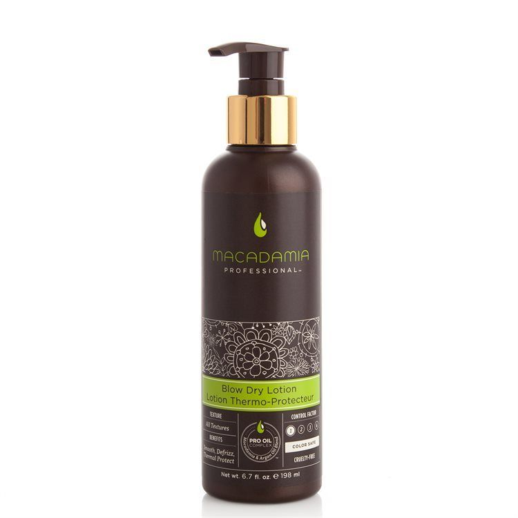 Macadamia Natural Oil Blow Dry Lotion 198ml