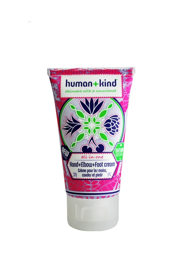 Human+Kind Hand Elbow And Foot Cream 50ml