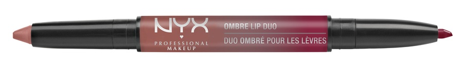 NYX Prof. Makeup Ombre Lip Duo Lipstick & Lipliner Old04 Freckles & Speckles