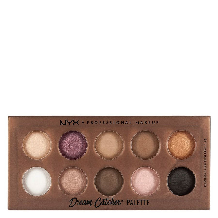 NYX Prof. Makeup Dream Catcher Shadow Palette Golden Horizons DCP01