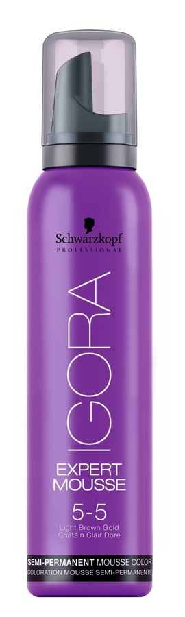 Schwarzkopf Igora Expert Mousse 5-5 Light Brown Gold 100ml