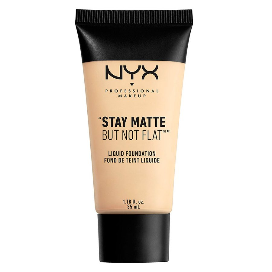 NYX Professional Makeup Stay Matte But Not Flat Liquid Foundation Ivory 35ml SMF01