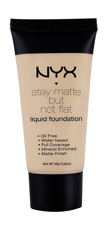NYX Stay Matte But Not Flat Liquid Foundation Soft Beige 35ml SMF05
