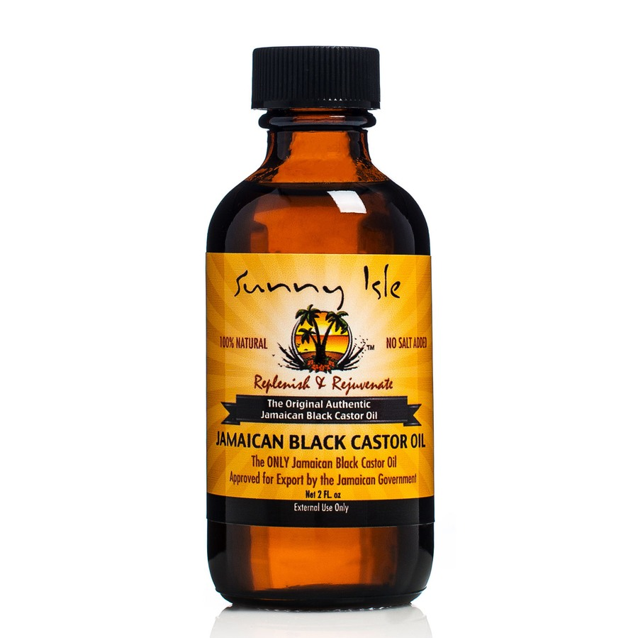 Castor Oil 60ml. Sunny Isle Regular Jamaican Black