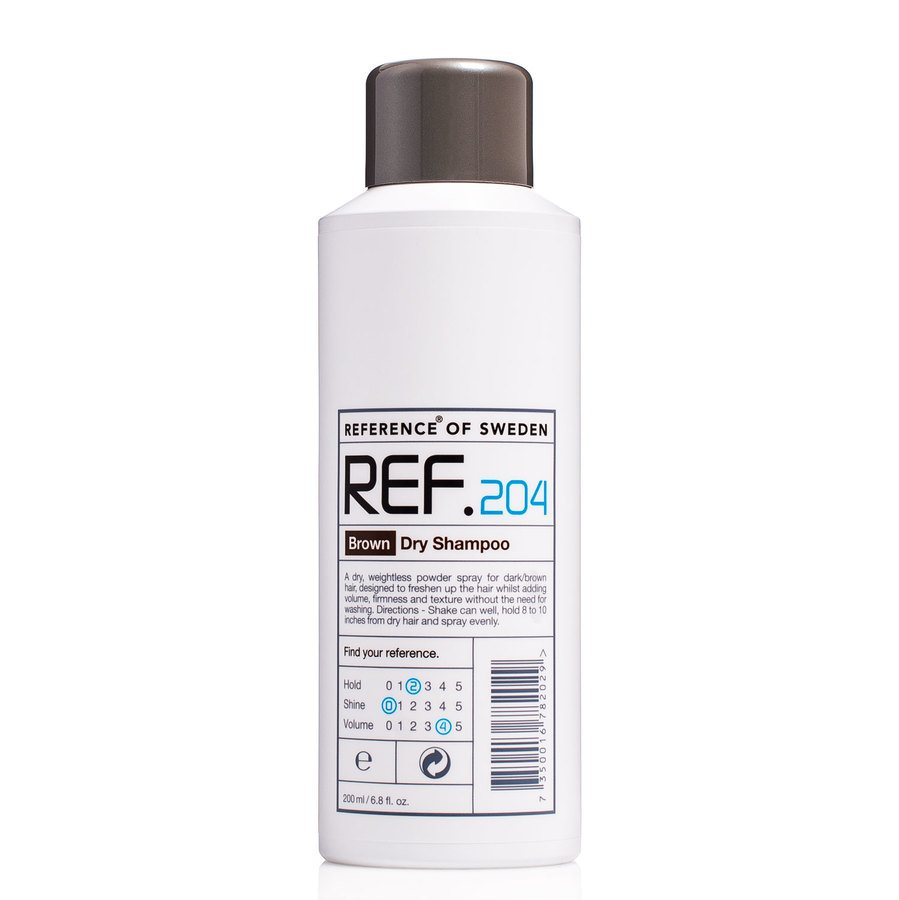 REF 204 Brown Dry Shampoo 200ml