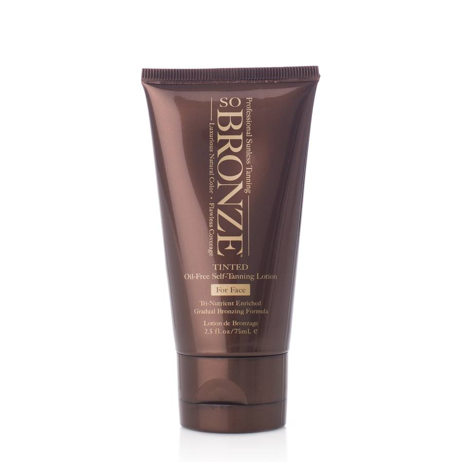 Hempz So Bronze Tinted Oil-Free Self-Tanning Lotion For Face 75ml