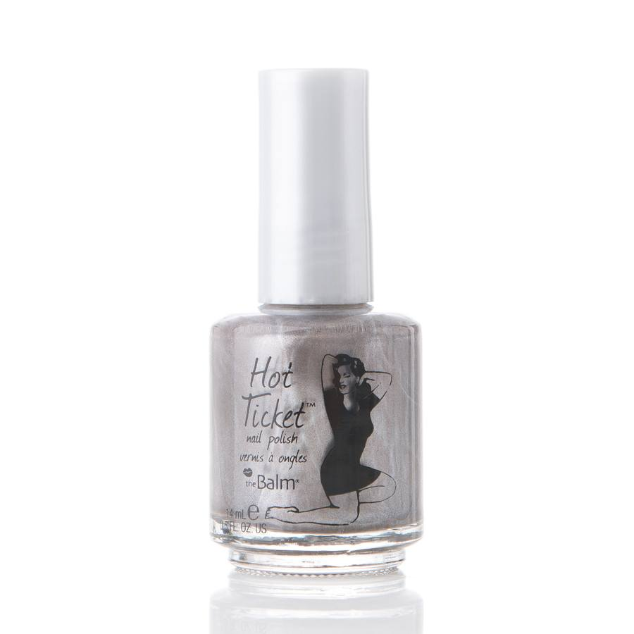 The Balm Hot Ticket Nail Poilsh All You Ever Do Is Taupe