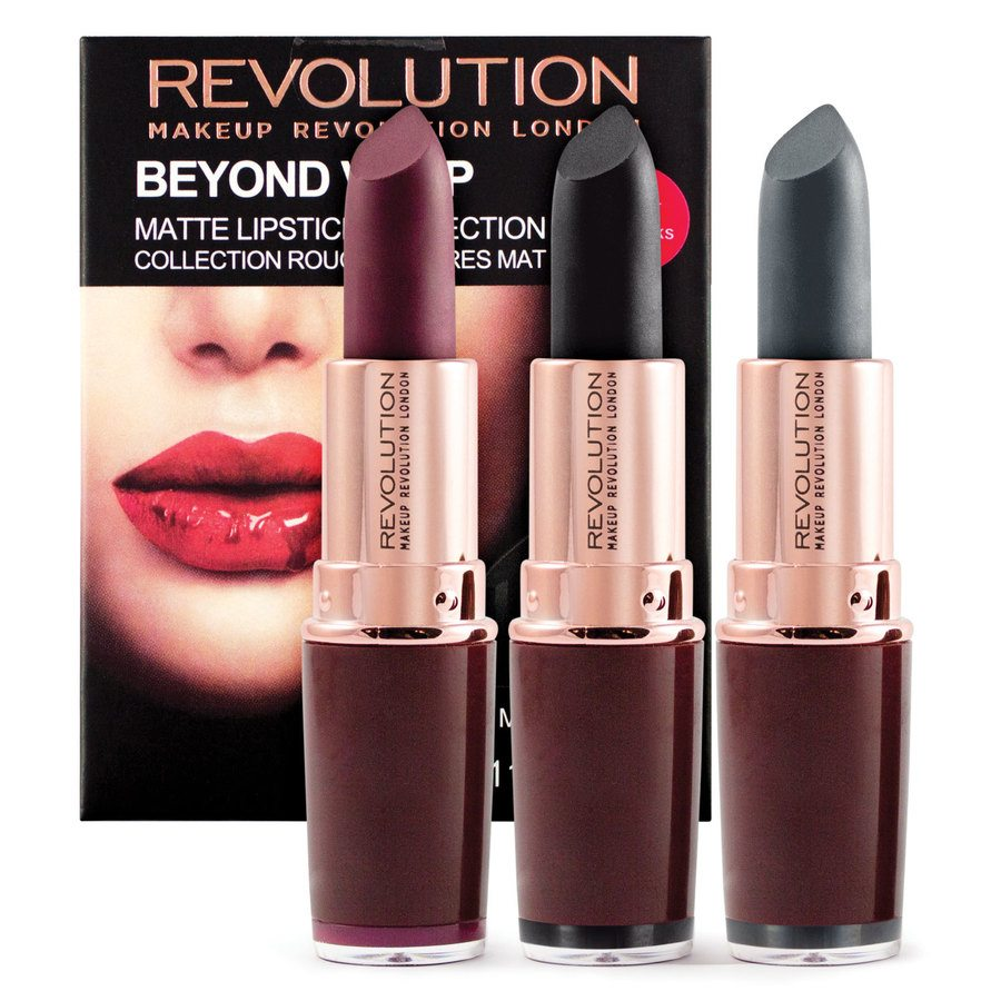 Makeup Revolution Beyond Vamp Matte Collection
