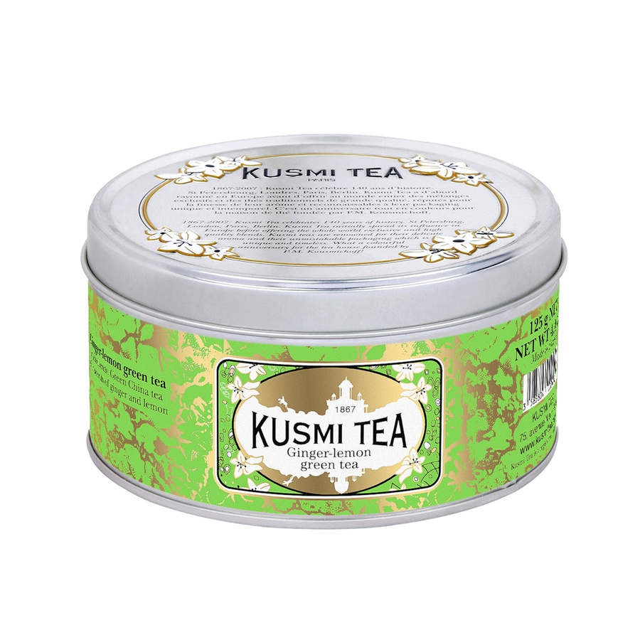 Kusmi Tea Green Ginger Lemon 125g