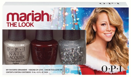 OPI Mariah Carey Holiday Collection – The Look 3 x 15ml