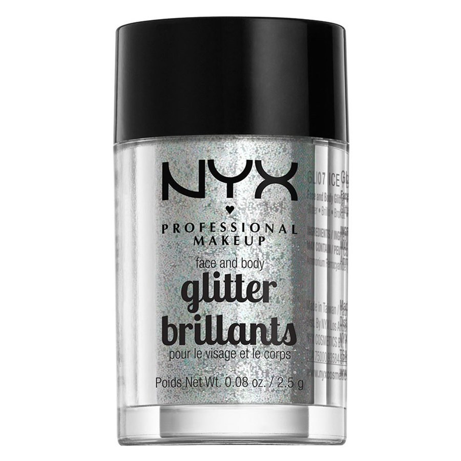 NYX Professional Makeup Face And Body Glitter Brilliants Ice