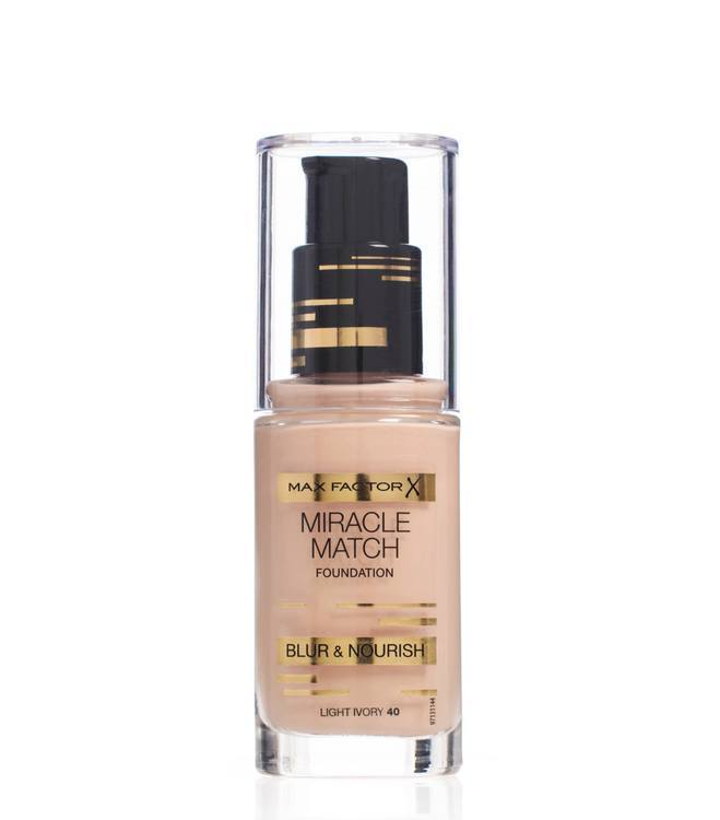 Max Factor Miracle Match Foundation Light Ivory 040