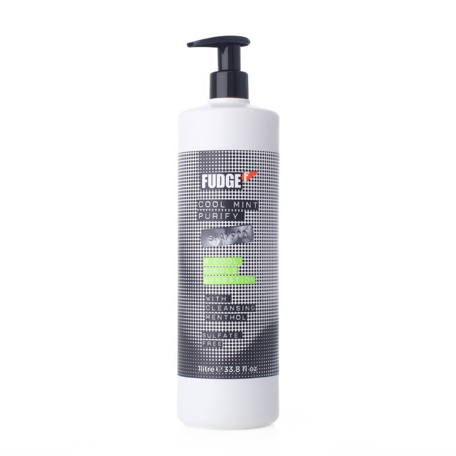 Fudge Cool Mint Purify Shampoo 1000ml