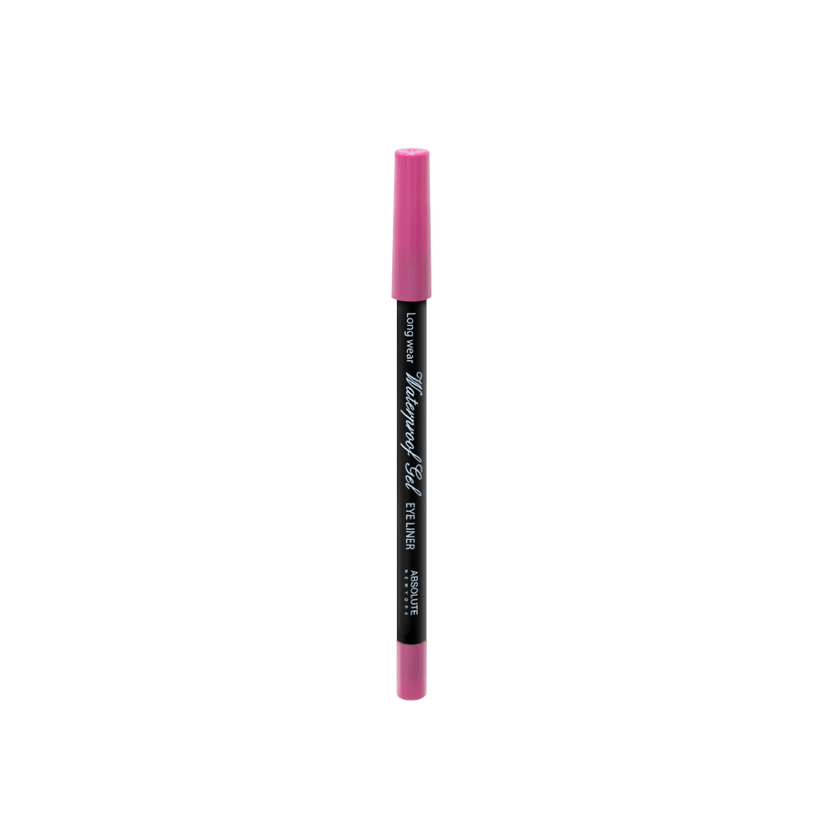 Absolute New York Waterproof Gel Eye Liner Pink NFB92