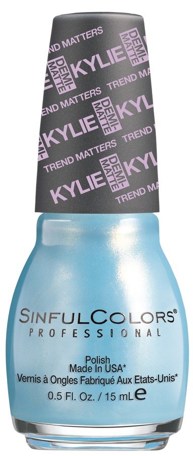 Kylie Jenner Sinful Colors Neglelakk Kurtain Kall #2084 15ml