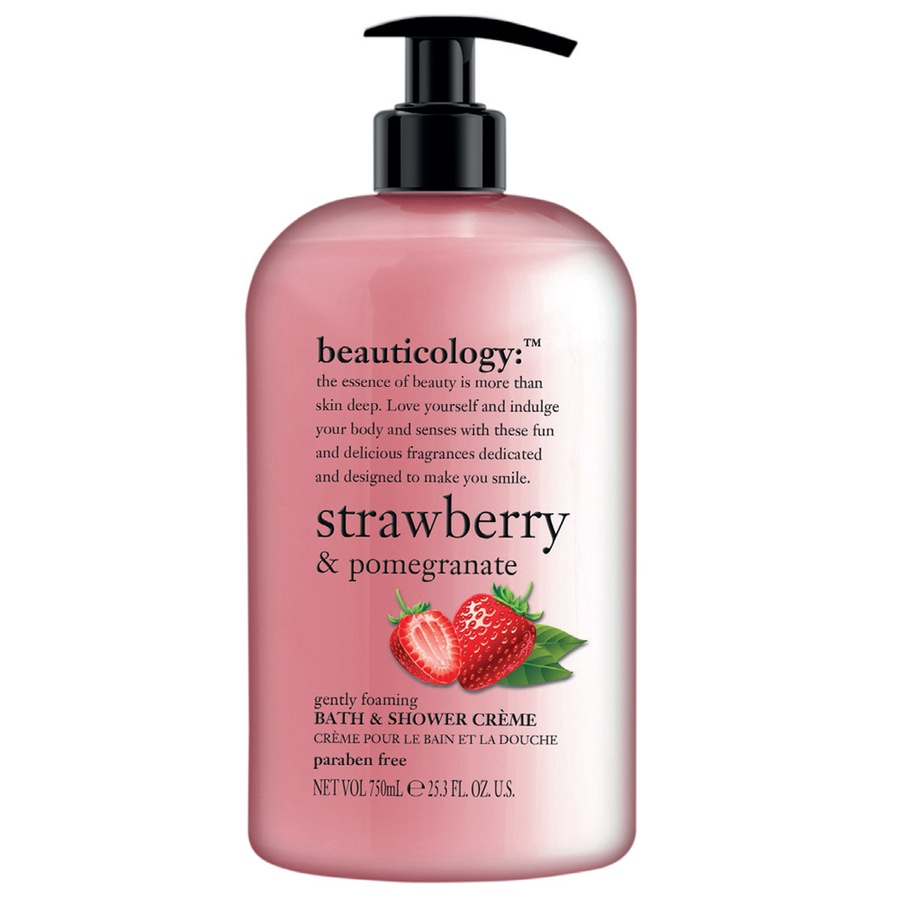 Baylis & Harding Beauticology Strawberry & Pomegranate 750ml Bath & Shower Creme