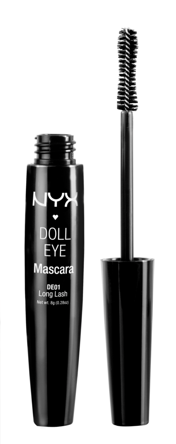 NYX Prof. Makeup Doll Eye Mascara Long Lash Black DE01