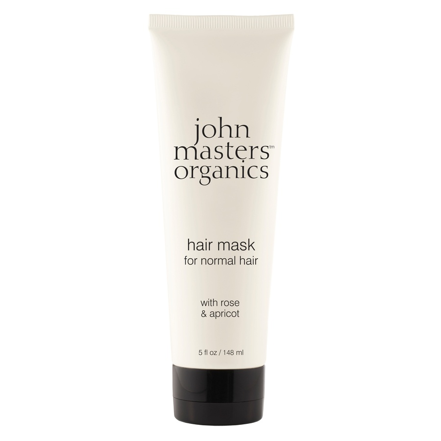 John Masters Organics Hair Mask For Normal Hair With Rose And Apricot 148ml