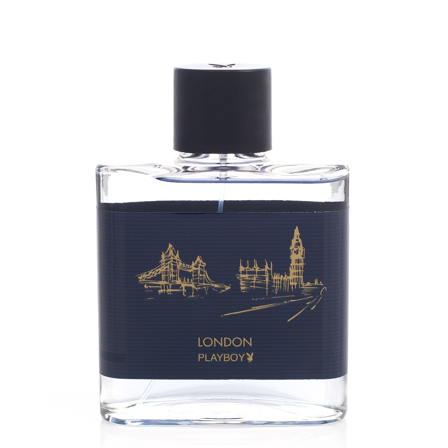 Playboy London Men Eau De Toilette Spray 100ml