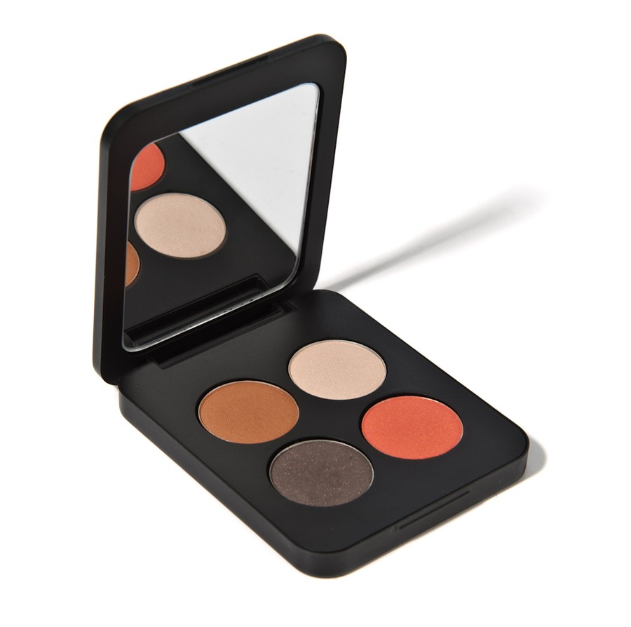 Youngblood Pressed Eyeshadow Quad Moulin Rouge