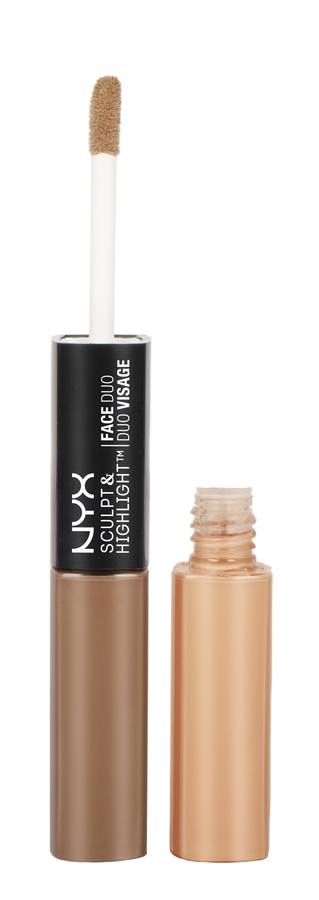 NYX Prof. Makeup Sculpt & Highlight Face Duo Cinnamon/Peach