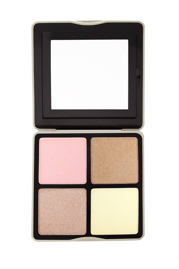 bh Cosmetics Nude Rose Highlight 4 Color Highlighter Palette 21g