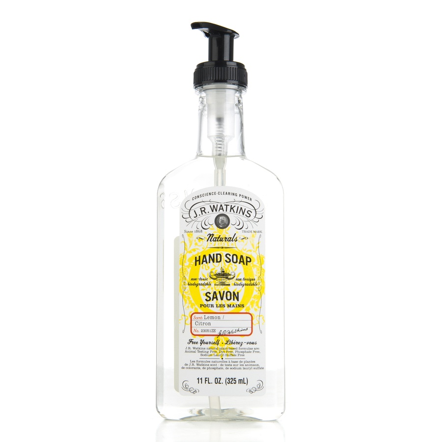 JR Watkins Liquid Hand Soap Lemon