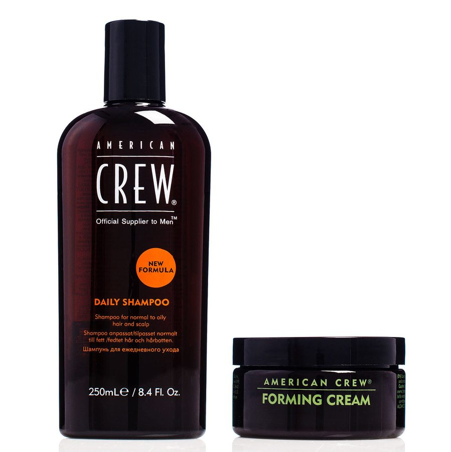 American Crew Duo Daily Shampoo 250ml & Forming Cream 85g Til Han