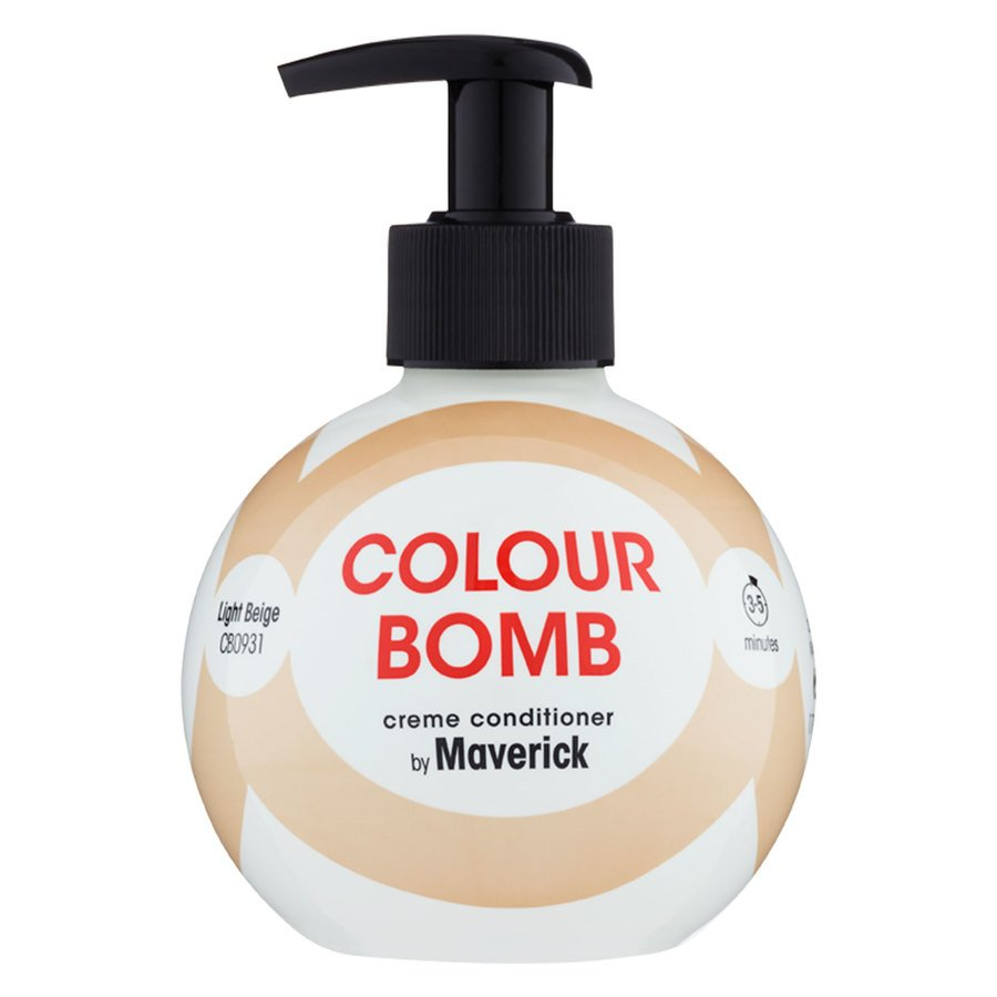 Colour Bomb Fargebalsam Light Beige 250ml