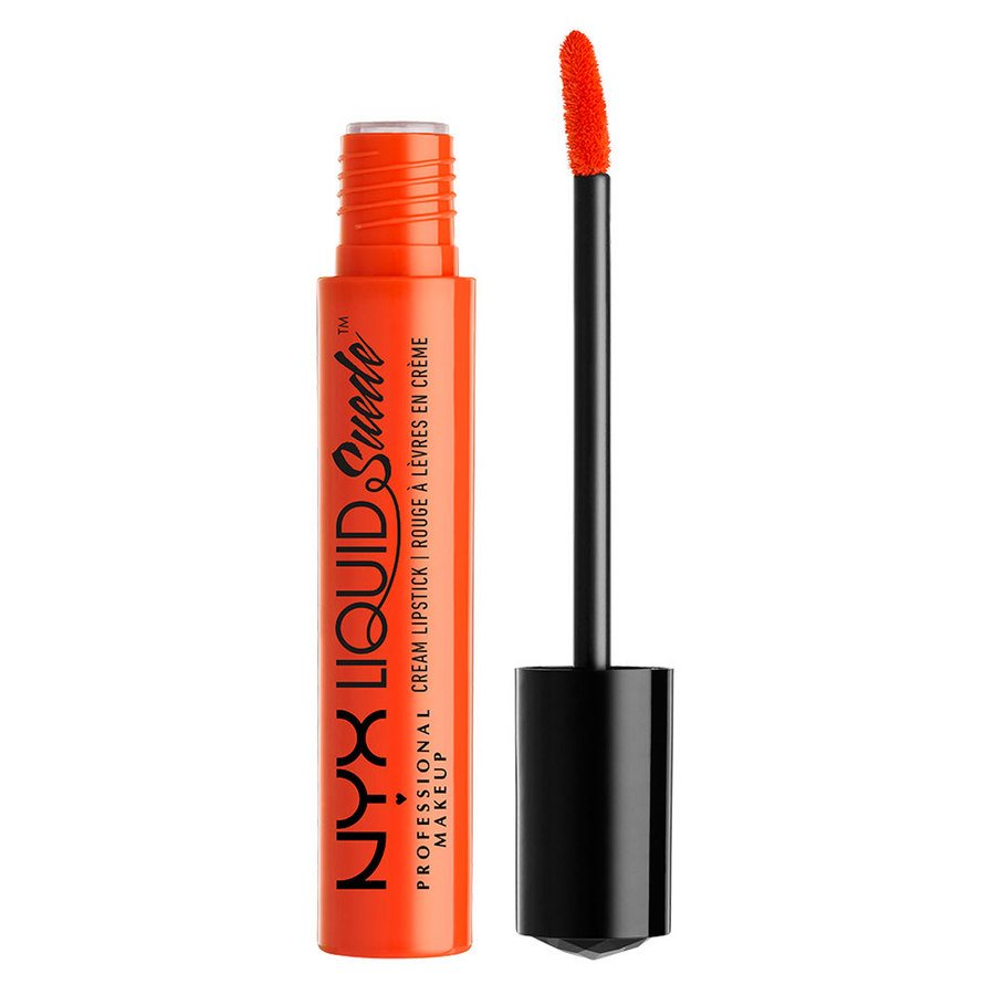 NYX Prof. Makeup Liquid Suede Cream Lipstick  Orange County LSCL05