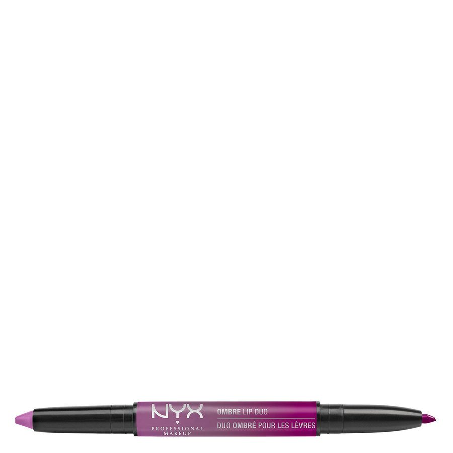 NYX Professional Makeup Ombre Lip Duo Lipstick & Lipliner Old07 Poppy & Lily