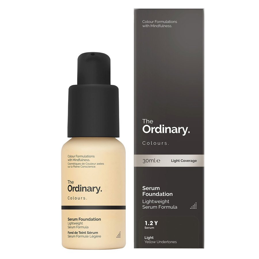 The Ordinary Serum Foundation 1.2 YG Light Yellow Gold 30ml