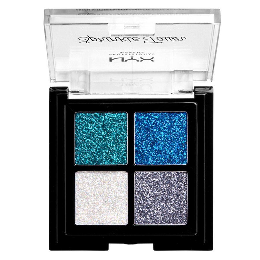 NYX Professional Makeup Sprinkle Town Cream Glitter Palette Cool 4g