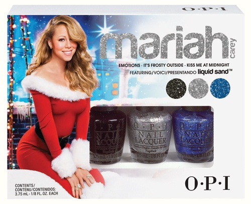 OPI Mariah Carey Holiday Collection – Mini 3-Pack Liquid Sand Trio Emotions 3 x 3,75ml