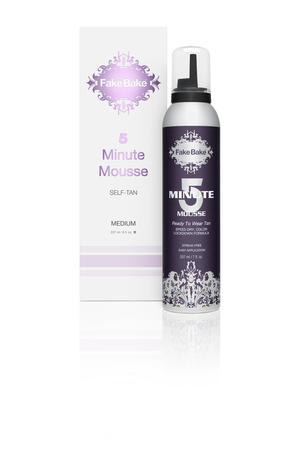 Fake Bake NEW 5 Minute Mousse Instant Self-Tan 207ml