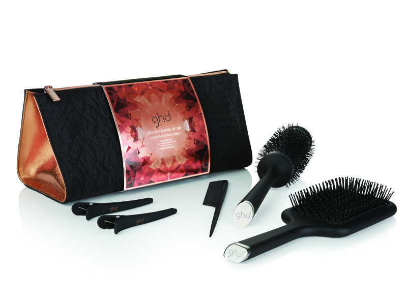 GHD Ultimate Brushes Gift Set Copper Luxe Collection