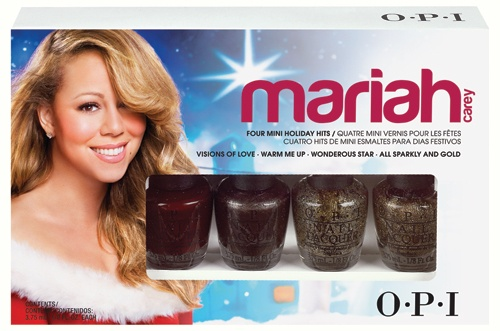 OPI Mariah Carey Holiday Collection – Mini 4-Pack 4 x 3,75ml
